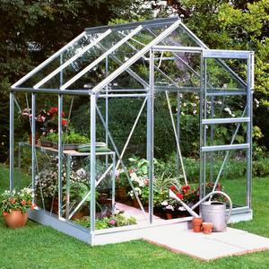 Halls Popular 6ft x 6ft Greenhouse Preview
