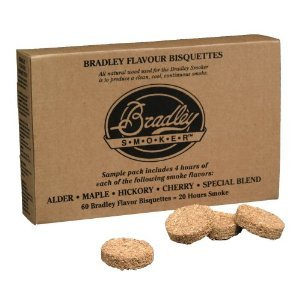 Bradley Smoker Variety Pack of 60 Bisquettes Preview