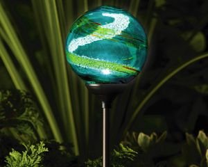 Murano Aqua Solar Powered Garden Light Preview