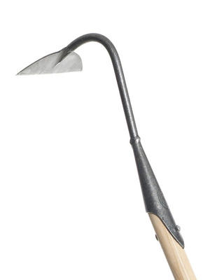 "DeWit 6"" Swan Neck Hoe with Long Handle Preview"