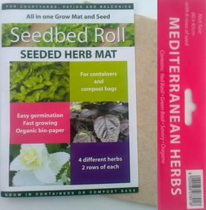 Grow Your Own Basil, Savory and Oregano from Seed Preview