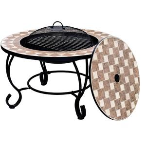 Napoli Large BBQ Firepit Table Preview