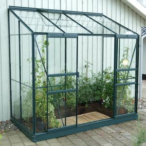 Vitavia Ida 3300 4ft x 8ft Lean-to Greenhouse Preview