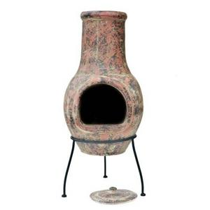 Classic Medium Clay Chimenea Preview