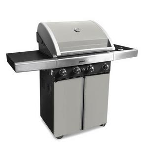 Grand Hall Maxim 423 Pearl Grey 4 Burner Gas BBQ Preview