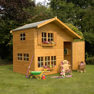 7x5 Double Storey Playhouse Preview