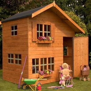 8x6 Double Storey Playhouse Preview