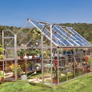 Easy-Glaze 8x12 Crystal-Clear Polycarbonate Greenhouse from Palram Preview