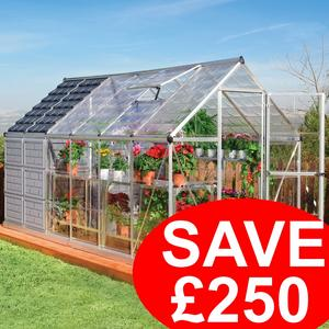 12x6ft Grow & Store Greenhouse/Shed - SAVE �250 Preview