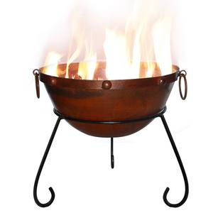 Rustic Steel Firebowl Preview