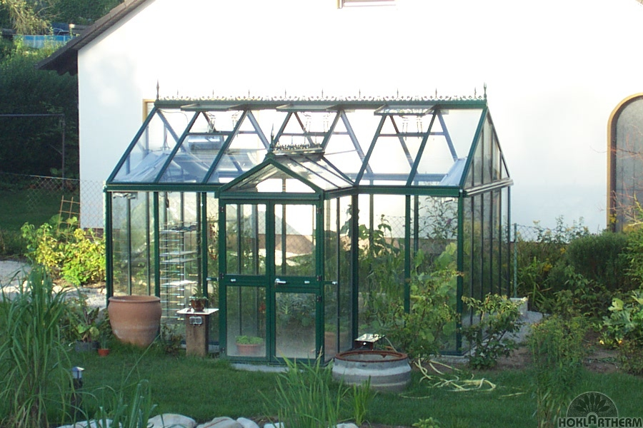 PRESTIGE ORANGERY GREENHOUSE 14'7 x 10'5 QUALITY GREENHOUSE, FREE INSTALLATION* Enlarged Preview