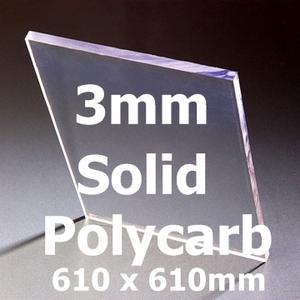 2ft x 2ft x 3mm Unbreakable Glass (610 x 610mm) Preview