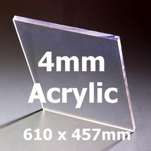 24 inch x 18 inch x 4mm Acrylic Greenhouse Glazing (610 x 457mm) Preview