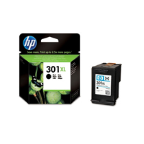 HP 301XL Black Ink Cartridge (CH563EE) Enlarged Preview