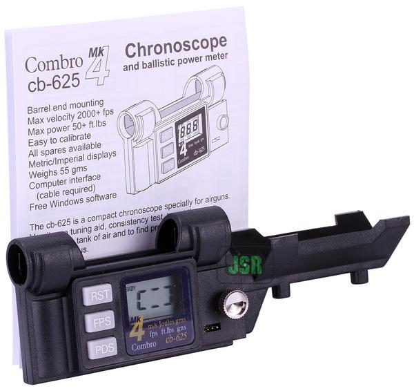 View Item Combro CB-625 CB625 Air Rifle Chronograph Chronoscope Mk IV Model