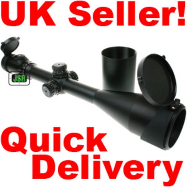View Item Leapers Accushot SWAT 8-32x56 **Illuminated** Mil Dot 30mm Side Focus Riflescope SCP3-P832AOMDL