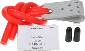 Barnett Black Widow Catapult POWER BAND Rubber RED Strike 9 Cobra Pro Diablo Preview