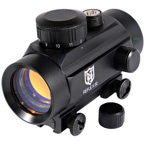 "Nikko Stirling 30mm Red Dot Sight with 3/8"" 11mm Intergrated Mounts Preview"