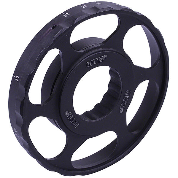 View Item Leapers New Gen UTG  80mm Large Sidewheel SCP-SW080B
