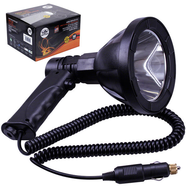 View Item Buffalo River Cree LED 12v Spotlight Lamp Torch 540 Lumens Lamping Hunting NV