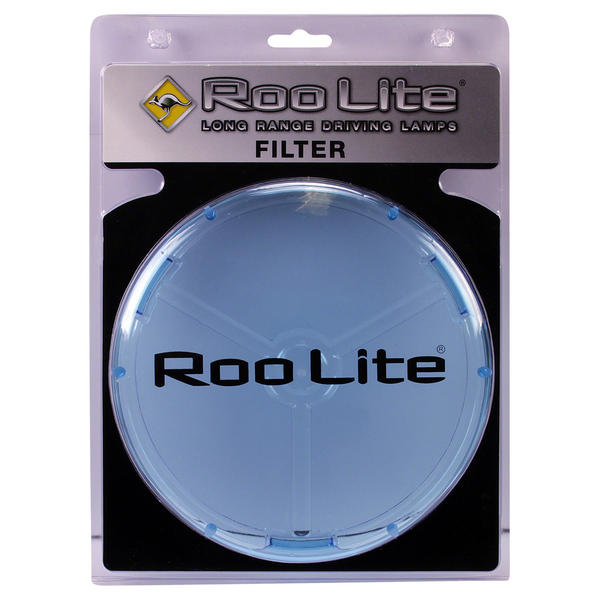 View Item Roo Lite Spot Light Driving Lamp BLUE Filter 220mm Lens Protection Cover RLCB220