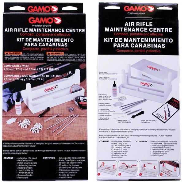 Gamo Bsa Airgun Cleaning Maintenance Kit Stand Rifle