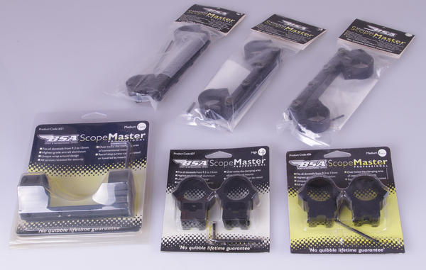 """View Item Selection of BSA 1 / 2 Piece 1"""" Mounts"""