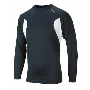 Ronhill Infinite Mens Long Sleeve Tee - Black/White (5160 151) Preview