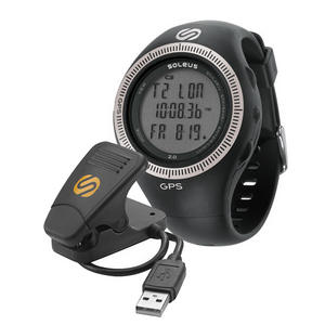 Soleus GPS 2.0 Runners Speed and Distance Watch with Data Upload (SG002-004) Preview