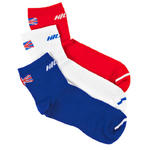 View Item Hilly MonoSkin Lite Anklet GB Edition Running Socks - Triple Pack