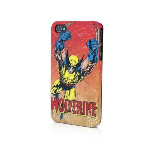 OFFICIAL NEW PDP MARVEL WOLVERINE RED RAGE CASE FOR IPHONE 4 4S IP-1408