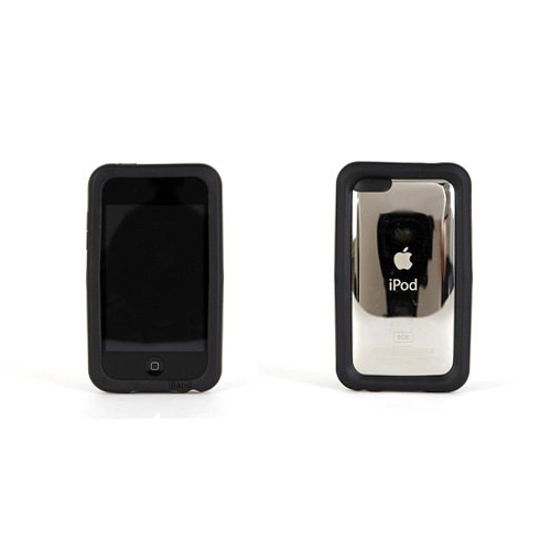 NEW iBAND WITH d30 INTELLIGENT SHOCK ABSORPTION BLACK CASE iPOD TOUCH 2ND GEN 2G