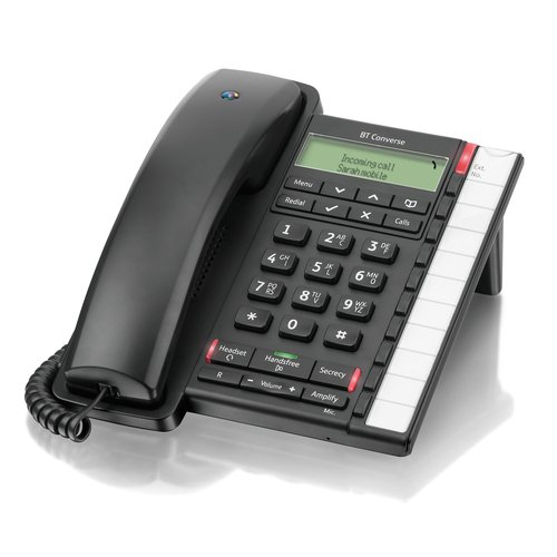 GENUINE BRAND NEW BT CONVERSE 2300 CORDED TELEPHONE IN BLACK
