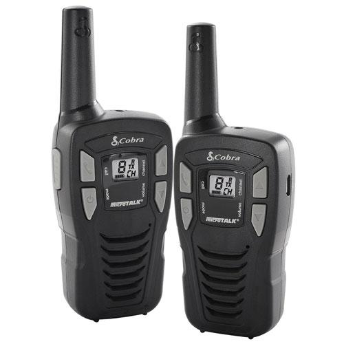 new genuine cobra mt245 vp walkie talkie radios up to 5km range pack mt 245 ebay