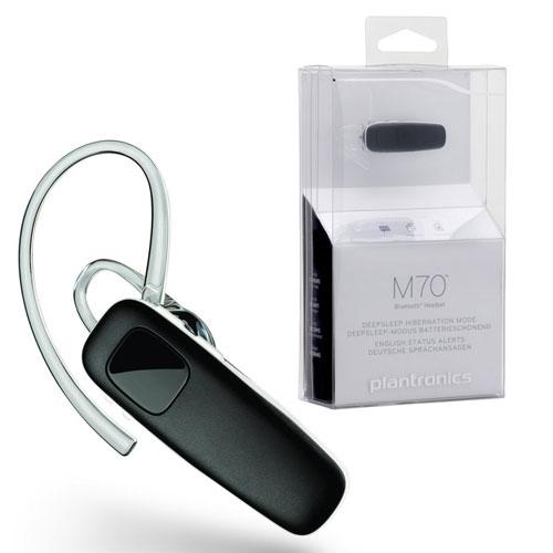new plantronics m70 handsfree wireless bluetooth headset. Black Bedroom Furniture Sets. Home Design Ideas