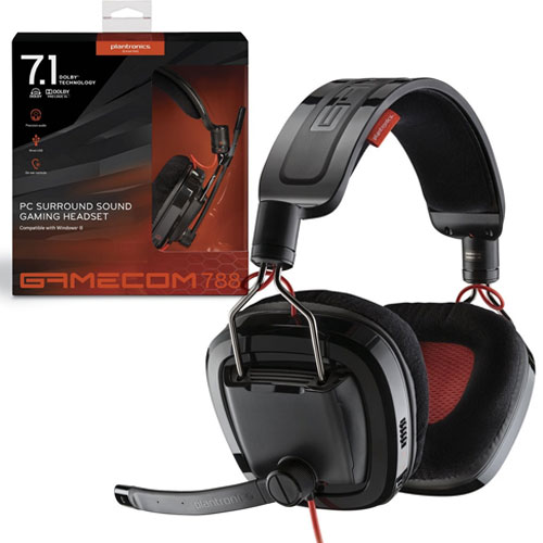 Plantronics - Gamecom 788 Gaming Headset Review/Mic Test ...