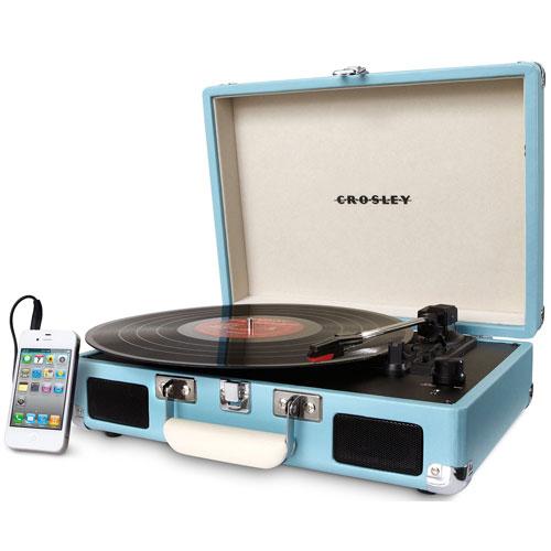 New Crosley Cruiser Turntable Portable Retro Briefcase