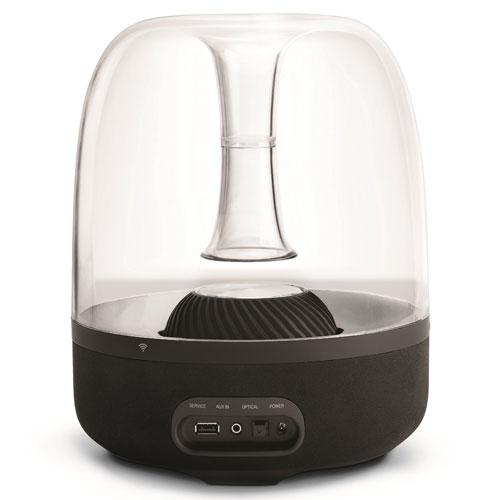 harman kardon aura studio bluetooth wireless speaker for. Black Bedroom Furniture Sets. Home Design Ideas