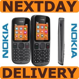 GENUINE NEW NOKIA 100 RH-130 CV UK FESTIVAL MOBILE PHONE IN BLACK