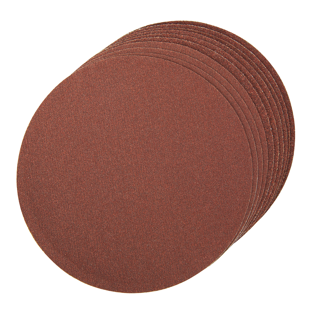 Gu5083 Self Adhesive Sanding Discs 150mm 10 Pack Assorted