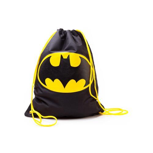 ... GA215805 CI05C1BTM DC COMICS BATMAN Gym Bag with Classic Logo, Black