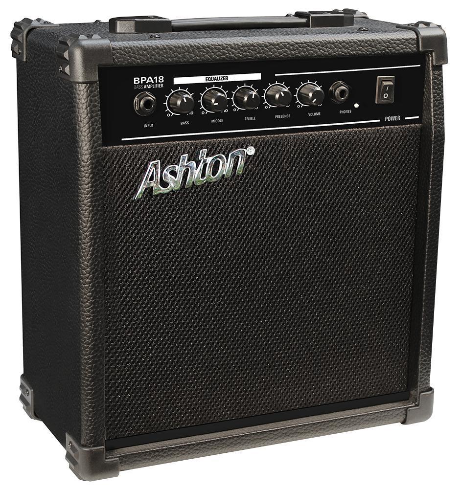 ashton bpa18 18w bass guitar amplifier ebay. Black Bedroom Furniture Sets. Home Design Ideas