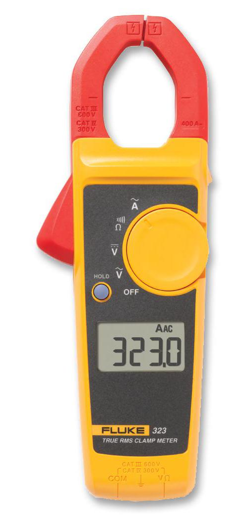 Fluke Digital Clamp Meter : Fluke a handheld digital true rms clamp meter