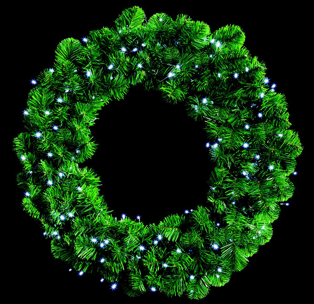 140 White LED Wreath Lights Xmas Lights Indoor Outdoor ...