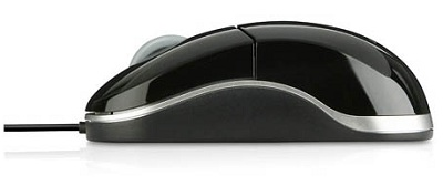 SPEEDLINK Snappy USB Mobile Mouse Black SL-6142-SBK