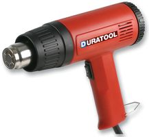1500W HOT AIR HEAT GUN PAINT STRIPPER TOOL + 4 NOZZLES