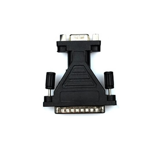 Serial RS232 Gender Changer Adaptor 9 F to 25 pin M
