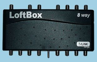 GLOBAL COMMUNICATIONS - LOFTBOX-4/G - 4-WAY LOFTBOX IN HOME DISTRIBUTION SYSTEM