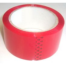 Polypropylene Self Adhesive Packing Tape Red 66m