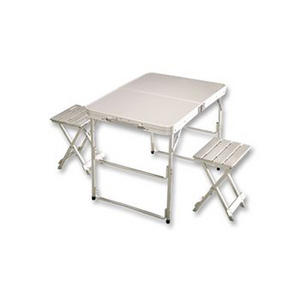 Coleman Pack Away Fold Up Table For 2 Stool Camping Buy